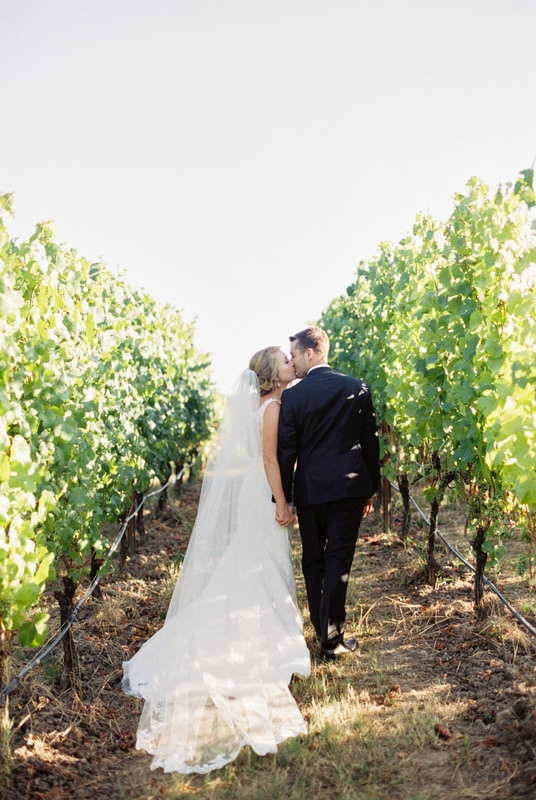 Zenith vineyard wedding